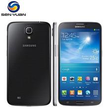 Original Unlocked Samsung Galaxy Mega 6.3 I9200 I9205 Mobile Phone Dual-core 6.3''Touch screen WIFI GPS 8MP Android Cell Phone(China)