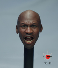 "SO-TOYS SO-011 Non-EB 16 Sports Star Star 23 Jordan Roared Head Carving for 12"" Action Figure Dolls Toys(China)"