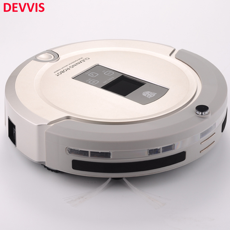 4 In 1 Multifunctional Vacuum Robot Cleaner (Sweep,Vacuum,Mop,Sterilize) Remote Controll,Stair Avoidance Detector,Schedule(China)