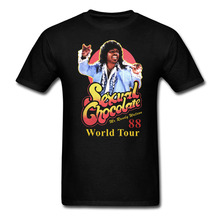 Buy Sexual Chocolate 88' World Tour Randy Watson Coming America T-shirt Mens Womens Cotton printing Shirt Big Size S-XXXL