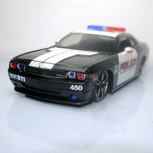 1/24 Scale USA Dodge Challenger Police Edition Diecast Metal Car Model Toy New In Box For Gift/Kids/Collection