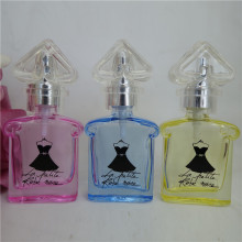 DHL FREE 50pcs 10 ML Refillable Bottle Small Perfume Bottle Transparent Glass Perfume Bottle