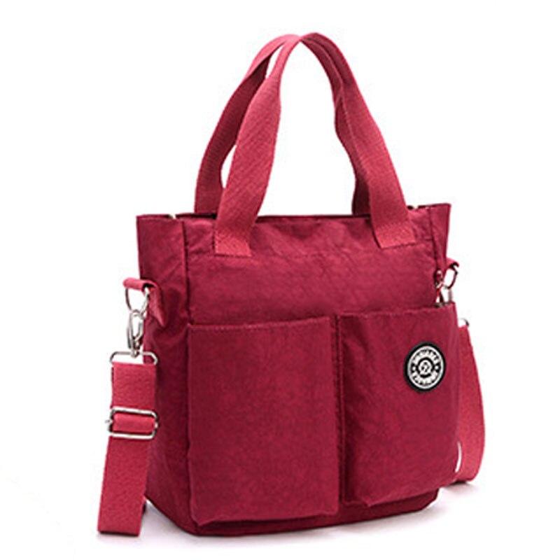 JinQiaoEr New women mummy bag Super light water proof nylon leisure bag Oversized Shoulder Bag Handbag<br>