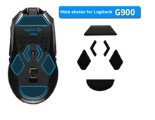 4SETS 100% Teflon 3M 0.6mm mouse feet mouse skates for Logitech G900 laser mouse with free Alcohol pad for clean high quality