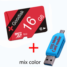 New promotion 16GB Class10 OEM RED Memory Card red blister MicroSD 32GB 8GB 64GB Real Capacity Micro sd card TF Card+GIFT
