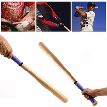 Solid Wooden Baseball Bat Professional Hardwood Baseball Stick 54cm 64cm 74cm 84cm Outdoor Sports Fitness Equipment Newest