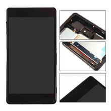 Assembly Replacement For Sony Xperia Z3 D6603 D6643 D6653 LCD Display and Touch Screen Digitizer Assembly + Black Frame