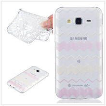 Ultra-thin Transparent Hollow Retro Vintage Flower Soft TPU Mobile Phone Case For Samsung Galaxy J5 J500M J500F Back Cover Bags