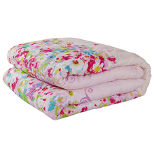 Home Textile Summer Quilt Bamboo Fiber Flower Thin Comforter Blanket 200*230cm Air Conditioning Quilt(China)