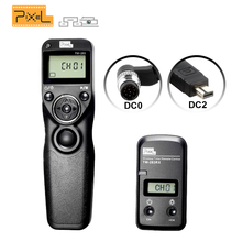 Pixel TW-283 Shutter Release Cable DC0 DC2 For Nikon D610 D7100 D5100 D3100 Camera Wireless Timer Remote Control Pixel TW-283