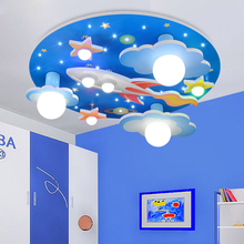 Modern Cartoon Remote Control LED Ceiling Lights 220V Children Bedroom Lovely LED Ceiling Lamps(China)
