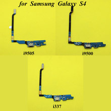New USB Charging port dock connector flex cable for Samsung Galaxy S4 i9505 i9500 i337 Replacement Part