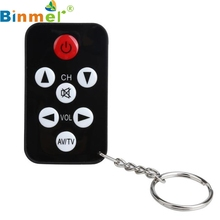 Factory Price Hot Selling TV Mini Keychain Universal Remote Control for Philips Sony Panasonic Toshiba LO Free Shipping Mar3