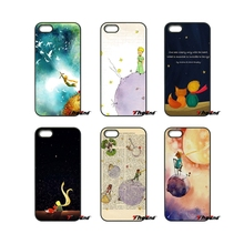 The Little Prince Night Planet France Art Phone Case For iPhone 4 4S 5 5C SE 6 6S 7 Plus Samsung Galaxy Grand Core Prime Alpha(China)