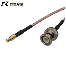 RF BNC Male to MCX Male Straight Wire Connector Coaxial RG316 Pigtail Cable RF Extension Cord RF Coax Jumper Cable