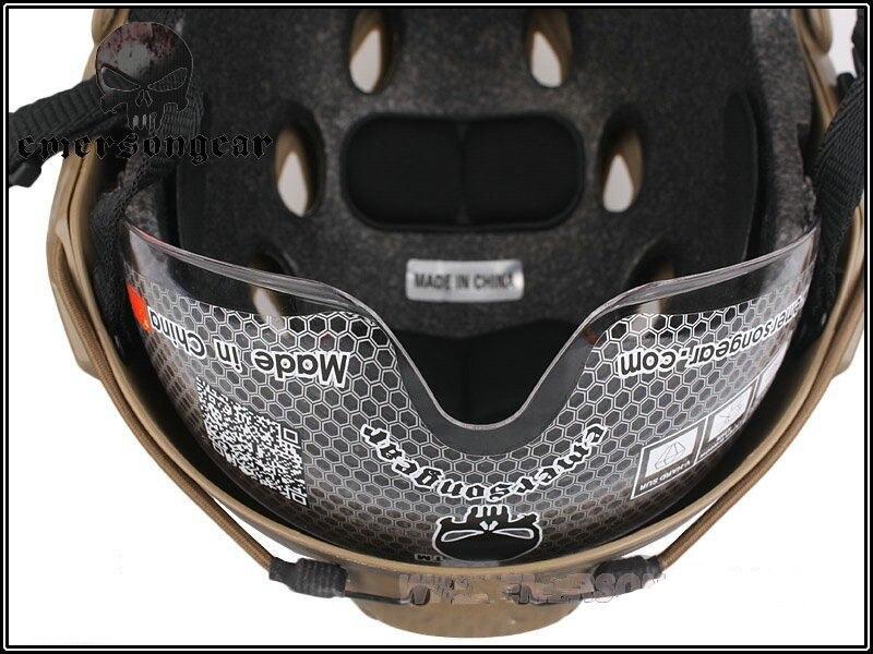 Emersongear FAST Helmet with Protective Goggle Base Jump Type helmet Military airsoft EM8818F EM8818C EM8818D EM8818E EM8818G