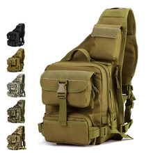 Hot Military Handbag Men Multi-function Waterproof Nylon Bag Shoulder Pack 2017 Free Shipping Z184