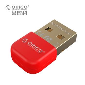 ORICO Mini Adaptador USB Bluetooth V4.0 Modo Dual Wireless Dongle Bluetooth CSR 8510 4.0 Transmisor Bluetooth para Windows10 32/64