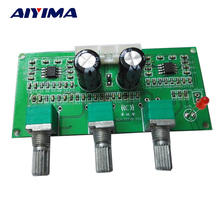Aiyima NE5532 HIFI Lossless Audio Treble Bass Adjustment Tone Board For Digital Amplifier Active Loudsperker Volume Control(China)