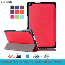 BENCUS  for Asus ZenPad 8.0 Z380KL Z380C Z380M Tablet Case Leather Hand Stand Holder  Fashion Business Protective Tablet Cover