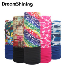 Winter Warm Sport Headband Bicycle Multi Functional Bandana Seamless Tubular Magic Bandana Tube Ring Scarf(China)