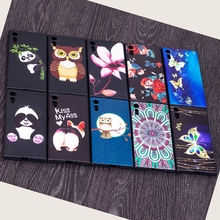 For Sony Xperia XZ Case For Sony Xperia XZS Case For Sony XZ Case Silicone Bamboo Panda Flower Cover Case For Sony Xperia XZ XZS(China)