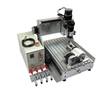 500W 4 axis 3d cnc router 3020Z usb port cnc machine