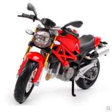 Maisto 1:12 696 Red Die-casts Metal Motorcycle model MONSTER