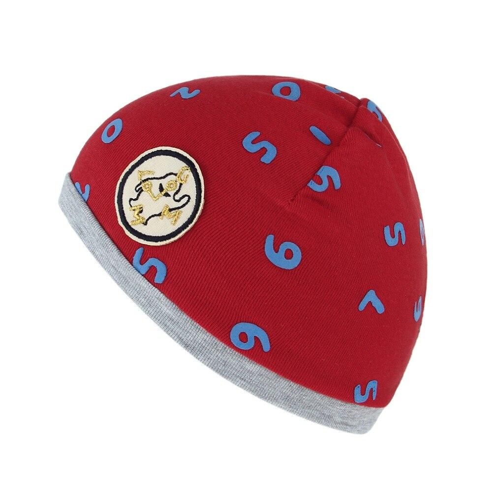 Baby Hats Cotton Skullies For Boys Girls Cute Cap With Numbers Printing Hats Newsborn Caps Children Caps Spring Winter Îäåæäà è àêñåññóàðû<br><br><br>Aliexpress