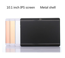 Android 7.0 10.1 inch MTK Tablet PC 3G4G LTE dual card phone personal computer eight face core 4GB memory 64GB Tablet Wifi GPS(China)