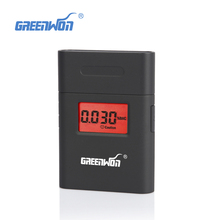 Fashion high accuracy mini Alcohol Tester,breathalyzer Alcotest remind driver safety in roadway diagnostic tool(China)