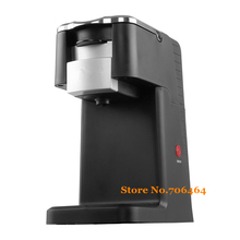 One button New K-CUP capsule Fully-automatic coffee machine espresso electric cappuccino/latte coffee maker(China)