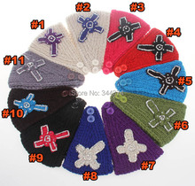 wholesale 2014 Fashion New cruciate flower Knitted Headwrap Headband Winter Warmer Hair Band for Women Accessories 25 pcs/lot(China)