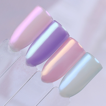 1 Box Mermaid Pearl Effect Nail Glitter Powder Shimmer Chrome Pigments Glitter Dust Manicure Nail Art Decoration 8 Colors