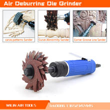 Air Tools  2015 Multi-function Sanders Grinder Die Grinder Eight Mixing Wood Carve Curve Line Deburring Machine Polisher