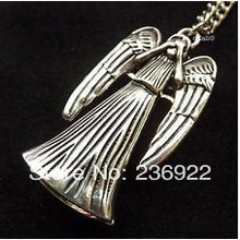 Buy 20pcs/lot Wholesale TARDIS necklace Weeping Angel Necklace sided inspired Doctor necklace,original factory supply for $23.14 in AliExpress store