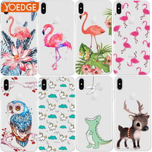 Soft TPU Silicone Case for iPhone 4S 5 5S SE 5C 6 6S 7 8 Plus X for Xiaomi Redmi Note 3 3S 4 4A 4X 5A Mi A1 Mi 5X Pro Prime(China)