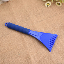 Snow Shovel Ice Scraper With EVA Sponge Snow Remove Tool For Winter EVA handle Car Vehicle Winter Tool Slivery Brushes(China)