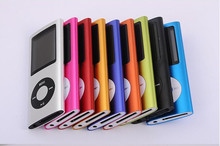 New 4th Gen mp3 mp4 player 32GB 16GB 1.8 inch screen with FM radio recording function 20pcs Wholesale  free DHL shipping