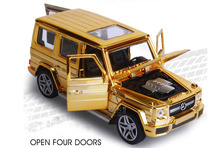 Hot Alloy Benz G65 car model, 1:32 Die cast model, toys car, Car collection Alloy car Planting model