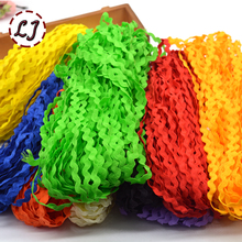 New arrived fashion 25yd/lot 5mm type S Border decoration lace trim ribbon for home garment car accessories crafts DIY(China)
