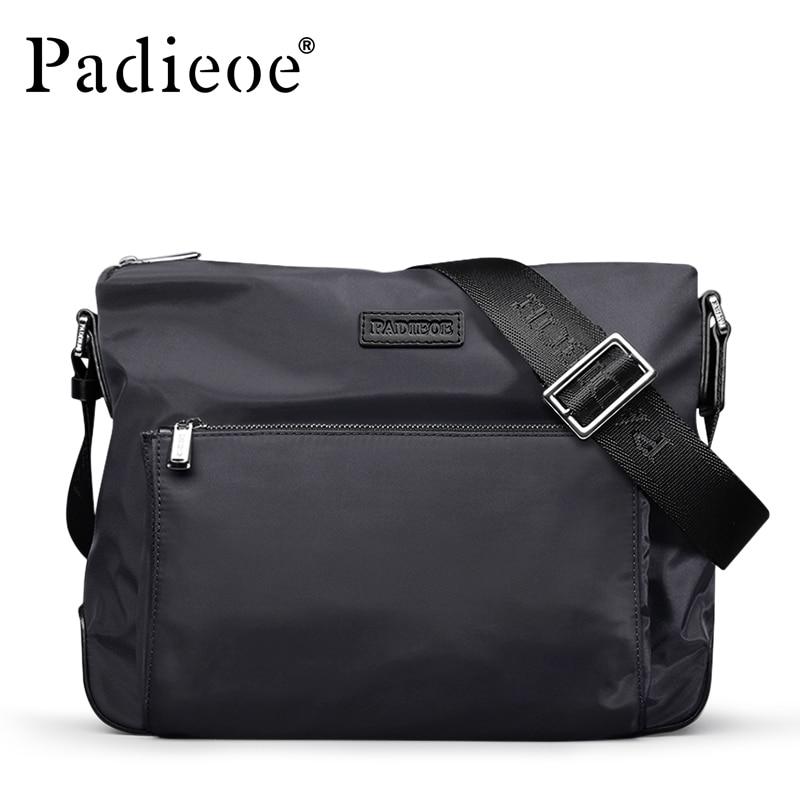 Padieoe New Arrival Durable Nylon Shoulder Bag For Men Casual Waterproof Crossbody Bags High Quality Men Messenger Bag Male<br>