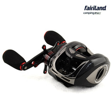 Baitcaster reels 10BB low profile baitcasting fishing reel KOREAN BANDO original water drop wheel gear ratio 5.1:1