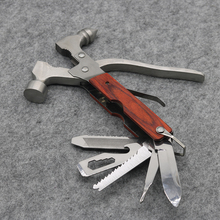 12-in-1 Multifunctional Hammer with Knife Plier Saw File Screwdriver Camping Tools Emergency Hammer Car Escape Tool NEW(China)