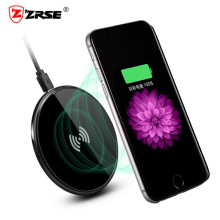 ZRSE QI Wireless Charger for Apple iPhone 6 6S Charging Pad Receiver Ultra Thin Charge Dock for iPhone 5 5s SE 7 Plus(China)