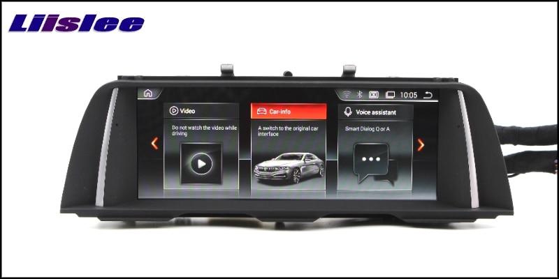 For BMW 5 Series F10 F11 2010~2012 LiisLee Car Multimedia GPS Audio Hi-Fi Radio Stereo Original Style For CIC Navigation NAVI 333