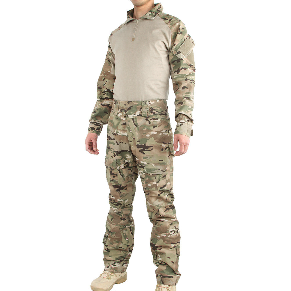 Military Camouflage Suit Tactical Assault Combat Mens Set For Outdoor Army Hunting CS Sets