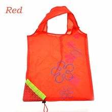 2016 Factory Wholesale Eco-friendly Foldable Reusable Strawberry Shopping Bag