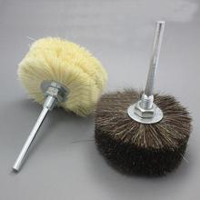 T Type 6mm horsehair/bamboo filament wood carving jewelry Remove rust burr dust surface polishing 80mm Abrasives tools
