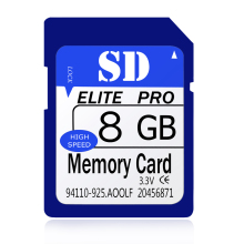 Great Quality 8GB Memory Card Full Capacity Guaranteed One Year Warranty 8 GB SDHC SD Card